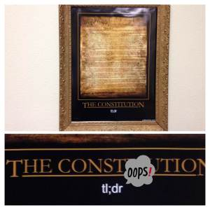 Dad Letters Constitution